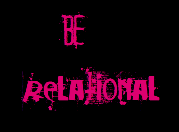 bE RELATIONAL